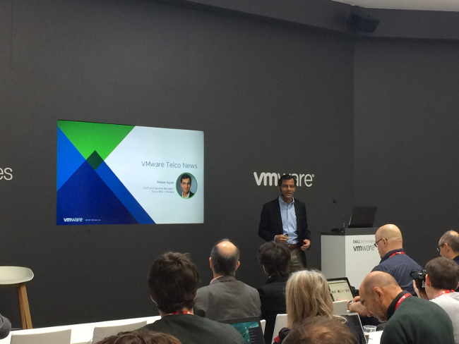 Shekar Ayyar, executive vice president and general manager, telco group, at VMware.