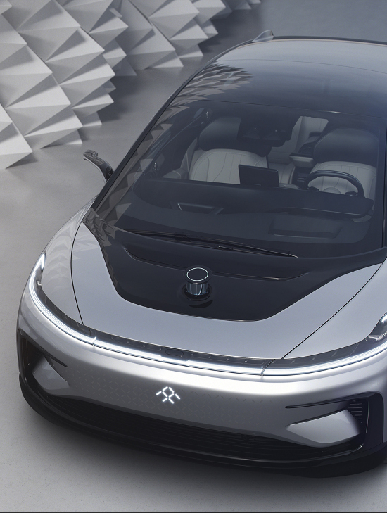 Faraday's FF91 electric car