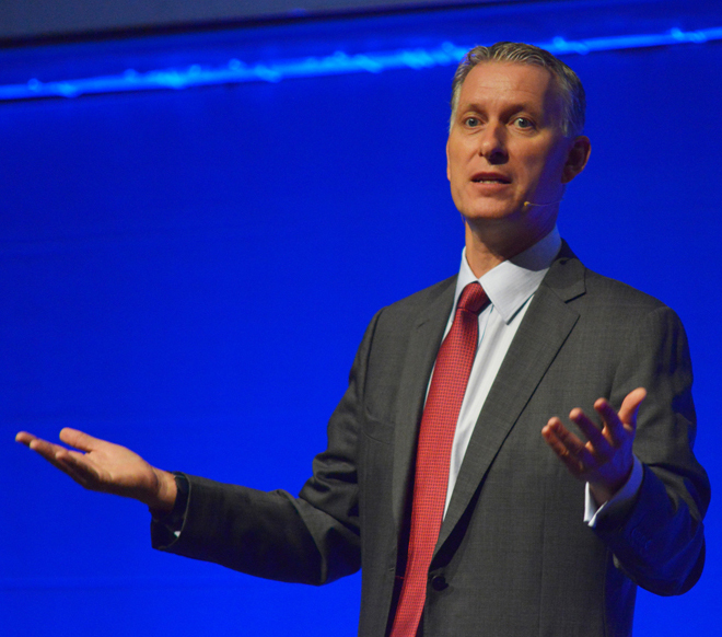 'Look at how you solve the problem, not what you sell.' -- Peter Sondergaard, Gartner