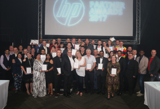 The winning partners at the annual HP Partner Awards.